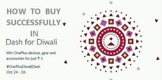 OnePlus Diwali Dash Sale 2016