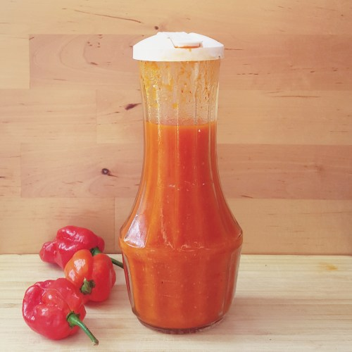 The sauce will be just a little bubbly, keep for months, and taste delicious!