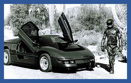 The Wraith Car Based On The Dodge M4S Turbo Interceptor