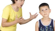 Shouting at Kids