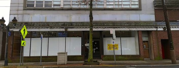 The former Swezeys Department Store, where a farmers market is slated to open this spring.