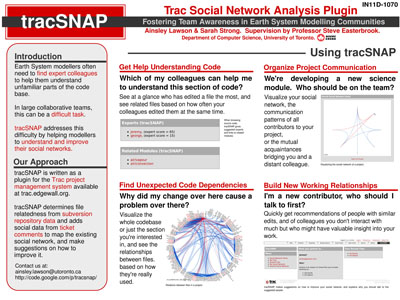 Our tracSNAP poster for the AGU meeting. Click for fullsize.