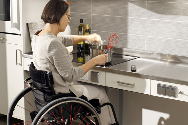 Top 5 things to consider when designing an accessible for Kitchen design for wheelchair user