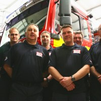 Eastleigh Firefighters Fly to NZ