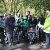 Mayor opens Lover's Lane cycle route