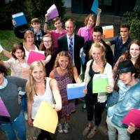 Barton Peveril students celebrate exam success