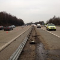 M27 closed till this evening following Eastleigh collision