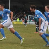 Eastleigh take on top of the table Bristol Rovers