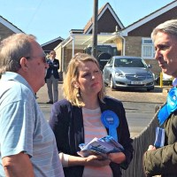 Foreign Secretary hits local campaign trail in Hedge End