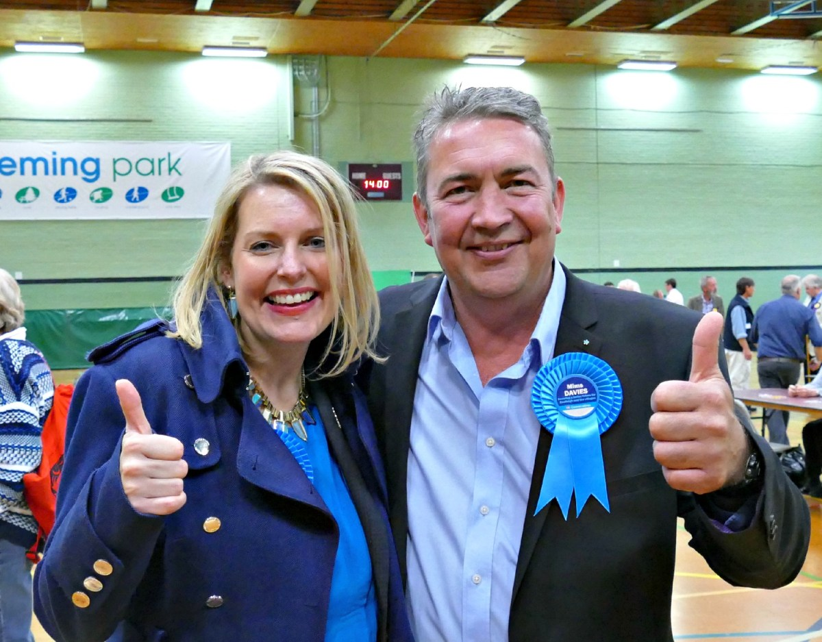 Tories 'on way up' as Mims wins in Eastleigh