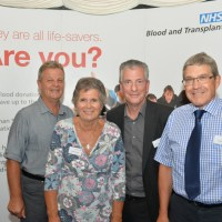 Eastleigh blood donors honoured