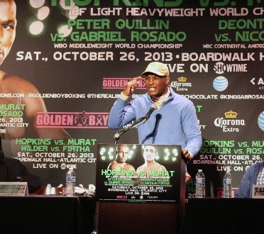 Hopkins eyes Mayweather superfight should he get past Murat