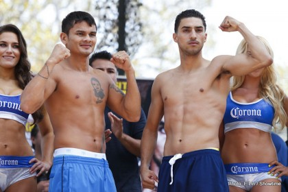 Marcos Maidana and Josesito Lopez