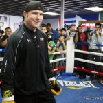 Quotes & Photos From Canelo Alvarezs San Diego Media Workout