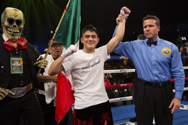 Joseph Diaz jr wins
