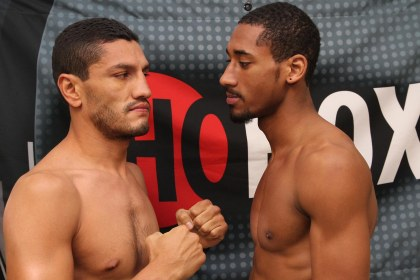 Weights: Andrade vs. Hernandez
