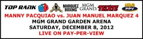 Pacquiao vs. Marquez 4 tickets go on sale September 28th