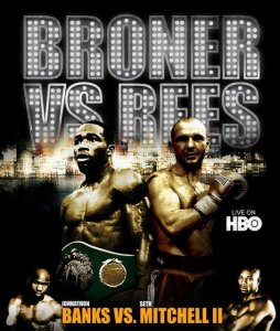 Broner defends his WBC lightweight title against Rees