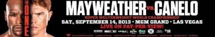 Floyd  Mayweather vs. Canelo Alvarez Tickets Go On Sale Tuesday, June 25!