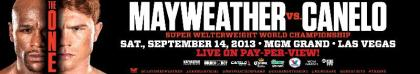 Mayweather vs. Canelo closed circuit tickets go on sale today