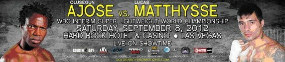 148 Olusegun vs. Matthysse this Saturday