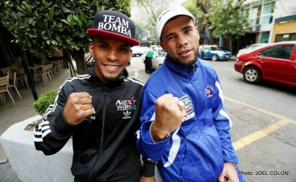 "Photos: JuanMa Lopez, McJoe Arroyo and ""Bomba"" González Arrive In Mexico"
