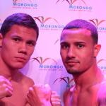 Photos and Weights from Cabazon: Rustam Nugaev   136 vs. Jose Hernandez   136