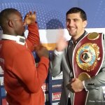 Marco Huck vs Ola Afolabi Press Conference Photos
