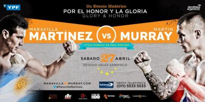 Instant replay to be used in Sergio Martinez WBC title defense against Martin Murray April 27th
