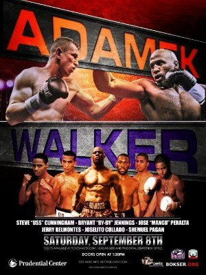 Adamek Walker, Cunningham Gavern, Jennings Koval battle it out in loaded card on September 8th