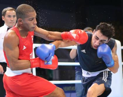 AIBA World Boxing Championships: Artem Harutyunyan, Everton Lopez Battle It Out