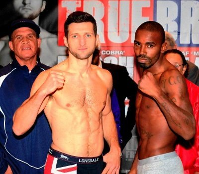 468 Froch/Mack Weigh In Videos; Punters Back Froch To Beat Mack; Boxing Channel Coverage