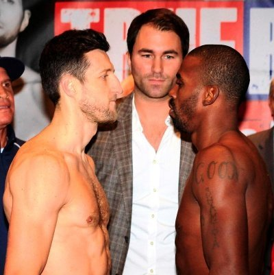 472 Froch/Mack Weigh In Videos; Punters Back Froch To Beat Mack; Boxing Channel Coverage