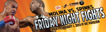 Carlos Molina ready for Cory Spinks on February 1st in Chicago