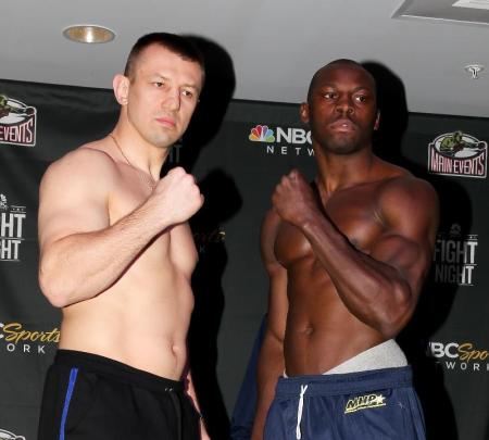 Weigh in video: Adamek vs. Cunningham II