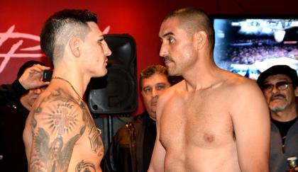 Weights: George 163, Lopez 162