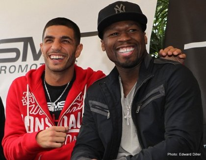 Photos: Dib & Gradovich promise fireworks plus 50 Cent to perform live ESPN Friday Night Fights