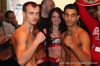 Weights: Billy Dib 125 lbs. vs. Evgeny Gradovich 125 lbs.
