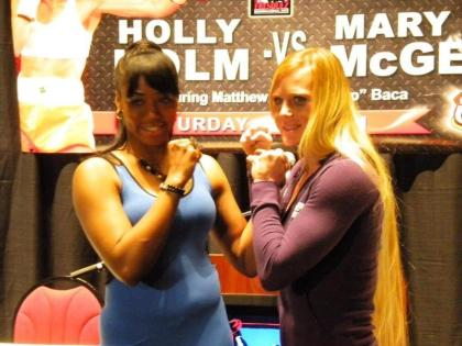 Holm vs. McGee on May 11