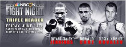 All Triple Header Contestants Confident of Win on Friday, June 14th NBCSN Fight Night