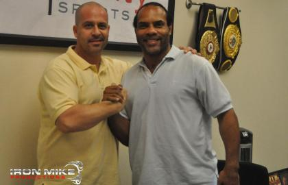 Top trainer John David Jackson Joins Iron Mike Productions