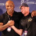 Photos: Weights from Turning Stone for Friday nights Iron Mike Productions show
