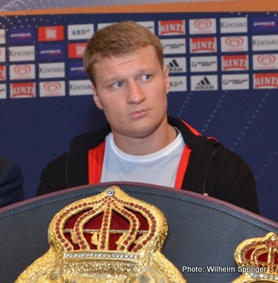 Alexander Povetkin: Kostya Tszyu doesn't want a new fighter!