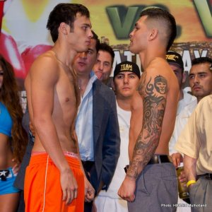 Chavez Jr. vs. Vera Live Stream Weigh In