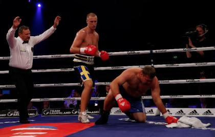 Otto Wallin to make Germany debut on October 26