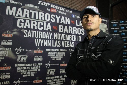 Martirosyan, Lara, Garcia & Barros media day photos