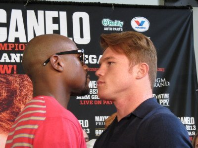 Mayweather and Canelo Invade Houston, TX!
