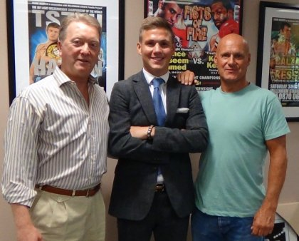 Frank Warren Inks Amateur sensation George Kean