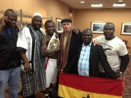 Ghana's Lartei Lartey eyes world glory after winning first US title