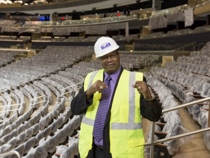Larry Holmes at Madison Square Garden